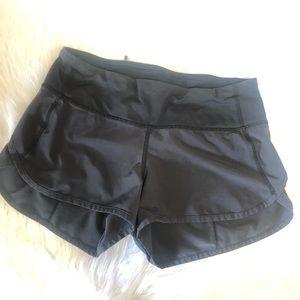 Lululemon Speed Shorts size 2